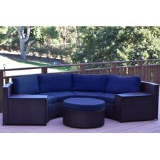 Cartagena 4 Piece Seating Group with Cushion