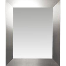Modern Rectangle Wood Wall Mirror