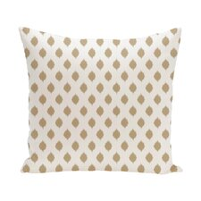 Cop-Ikat Geometric Print Outdoor Pillow