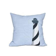 Brackenville Light House Outdoor Throw Pillow
