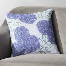 Mums the Word Floral Throw Pillow