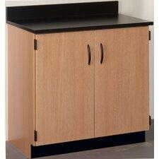 Science Classroom Cabinet with Doors
