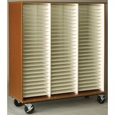 "Music 55"" Band/Orchestra Folio Storage with Casters"