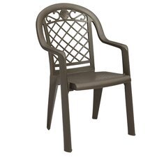 Savannah Stacking Dining Arm Chair (Set of 4)