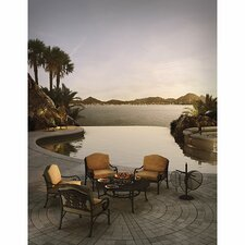 Coupon Maravilla 5 Piece Fire Pit Seating Group with Cushions