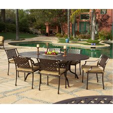 Sierre 7 Piece Dining Set