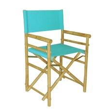 Hand Crafted Outdoor / Indoor Bamboo Director Chair (Set of 2) (Set of 2)