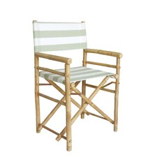 Hand Crafted Outdoor / Indoor Bamboo Director Chair (Set of 2)