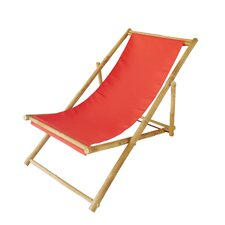 Hand Crafted Bamboo Folding Sling Zero Gravity Chair