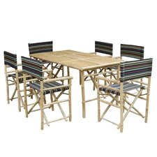 No Copoun 7 Piece Dining Set with Cushion