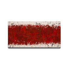 Ardent Love by Carmen Guedez Painting Print on Canvas