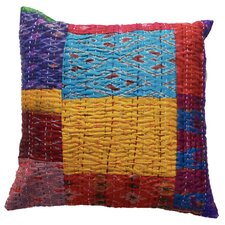 Silk Kantha VIntage Pillow Cover