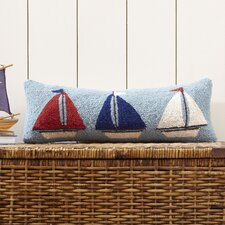Sail Away Hooked Pillow