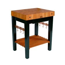 John boos kitchen islands carts you 39 ll love wayfair - Table basse rouge et noir ...