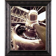 'DC 4 Aircraft' Framed Graphic Art Print