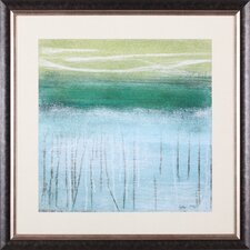 Shoreline Memories I by Heather McAlpine Framed Painting Print