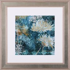 Chrysanthemums I by Maria Woods Framed Painting Print