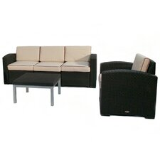 Cielo 3 Piece Deep Seating Group with Cushions (Set of 3)