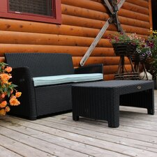 Comparison Gardenia 2 Piece Lounge Seating Group with Cushion