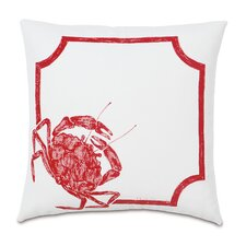 Outdoor Crab Walk Throw Pillow