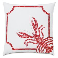 Outdoor Rock Lobster Throw Pillow