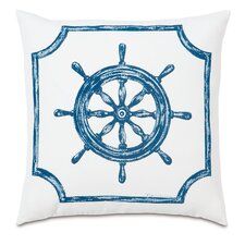 Outdoor Captain's Wheel Throw Pillow
