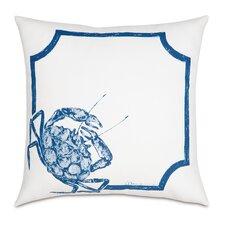 Outdoor Blue Crab Throw Pillow