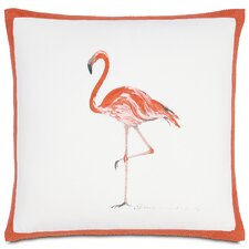 Coupon Outdoor Flamingo Throw Pillow