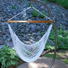 Rope Polyester Chair Hammock with Stand