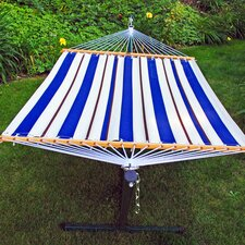 Cheap 2 Piece Polyester Hammock with Stand Set