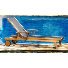 Today Sale Only Teak Riviera Lounger