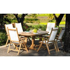 No Copoun Riviera 7 Piece Dining Set