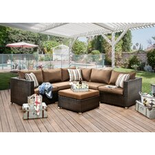 Lovely Grasse 6 Piece Seating Group with Cushions