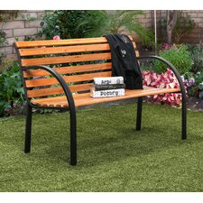 Refined Simplicity Outdoor Garden Bench