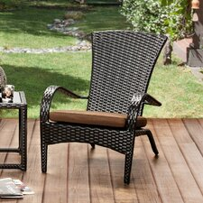 Sheila Patio Arm Chair with Cushion (Set of 6)