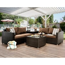 Edine 6 Piece Seating Group with Cushions