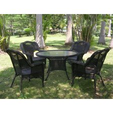 Monaco 5 Piece Patio Dining Set