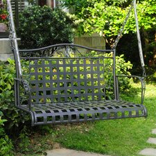 Mandalay Iron Porch Swing