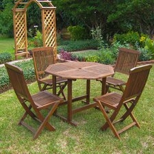 Sandy Point 5 Piece Dining Set