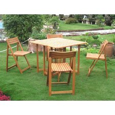 Herry Up Sabbattus 5 Piece Dining Set