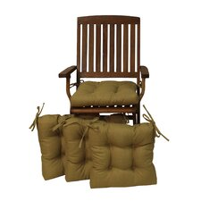 Outdoor Adirondack Chair Cushion (Set of 4)