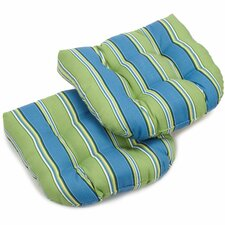 Haliwell Outdoor Lounge Chair Cushion (Set of 2)
