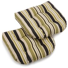 Eastbay Outdoor Lounge Chair Cushion (Set of 2)