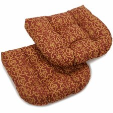 Vanya Outdoor Lounge Chair Cushion (Set of 2)