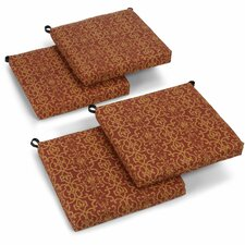 Vanya Outdoor Adirondack Chair Cushion (Set of 4)