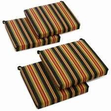 Lyndhurst Outdoor Lounge Chair Cushion (Set of 4)