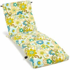 All Weather UV Resistant Veranda Outdoor Chaise Lounge Cushion