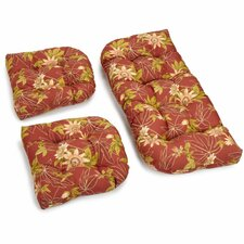 Passion Outdoor Loveseat Cushion