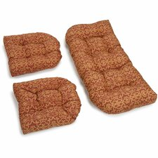 Vanya Outdoor Loveseat Cushion (Set of 2)