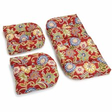 Alenia Outdoor Loveseat Cushion (Set of 2)